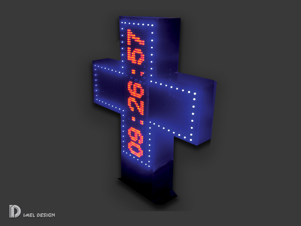 Led crosses for pharmacy