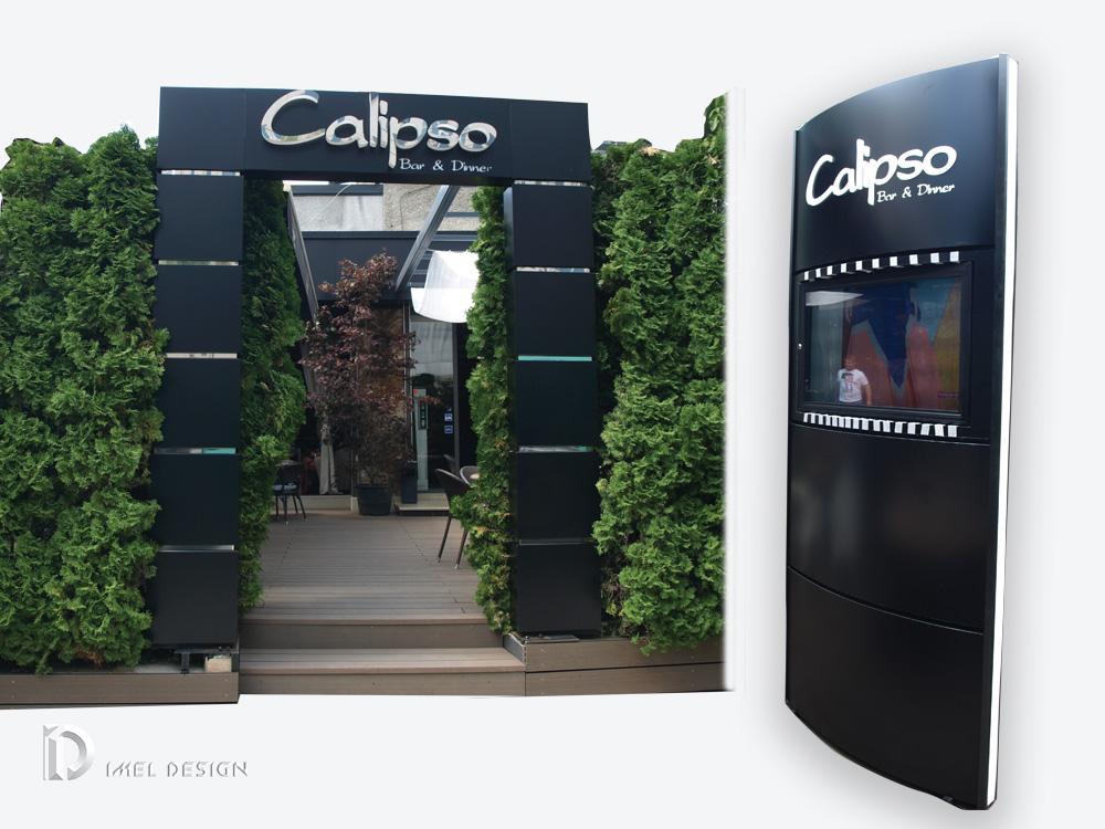 Pole Zeichen , bogen Calipso