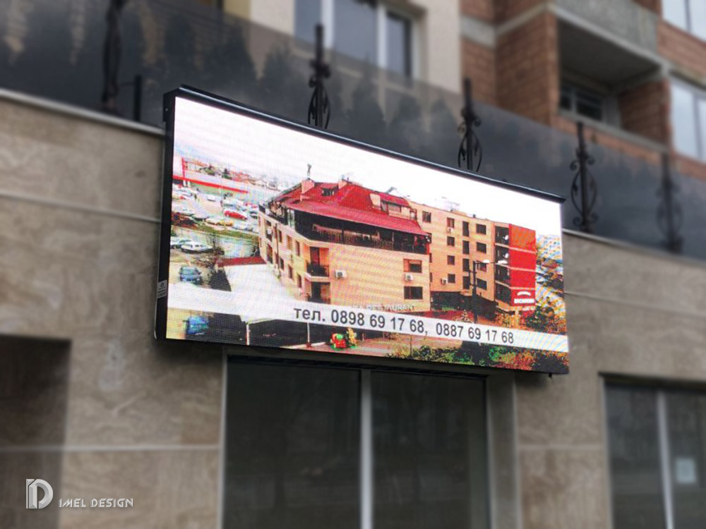 Outdoor full color Led screen   P6