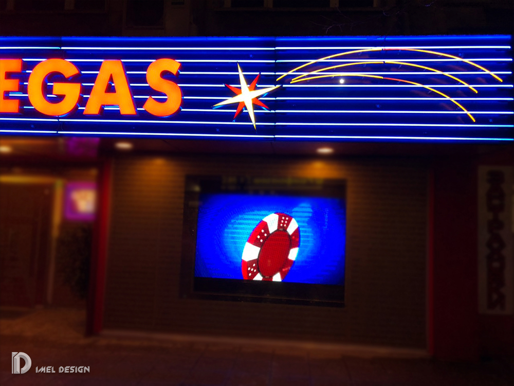 Лед екран Казино Лас Вегас